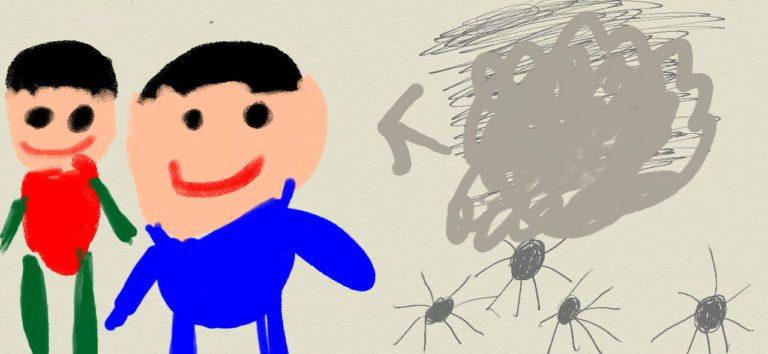 [故事] A.蜘蛛與灰塵的故事-1.蜘蛛與灰塵的秘密