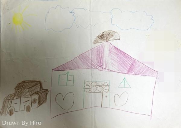 [繪畫] 太陽下的別墅